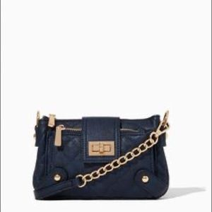 Charming Charlie Quilted Queen Crossbody Black